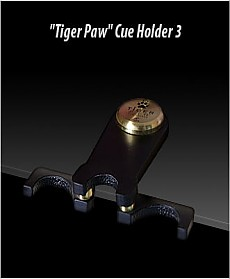 TIGER PAW Cue Holder (holds 3 Cues)