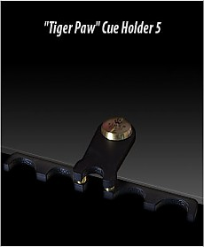 TIGER PAW Cue Holder (holds 5 cues)