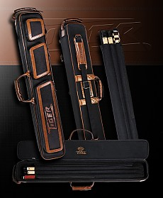 Tiger Cue Case 2 X 4 (Leather & Nylon)