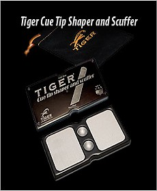 Tiger Cue Tip Shaper and Scuffer