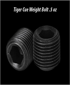 Tiger Cue Weight Bolt .5 oz