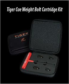 Tiger Cue Weight Bolt Cartridge Kit